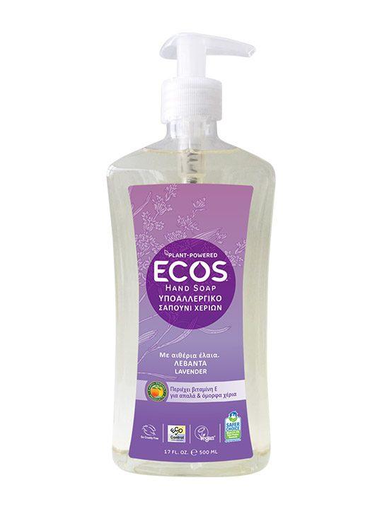 ECOS Σαπούνι Χεριών Οργανική Λεβάντα