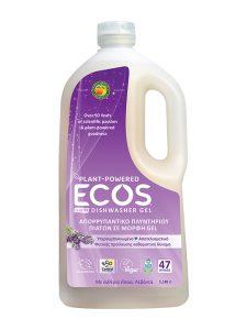 ECOS Καθαριστικό Gel Πλυντηρίου Πιάτων Βιολογική Λεβάντα
