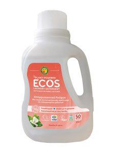 ECOS Απορρυπαντικό Ρούχων Μανόλια και Κρίνος