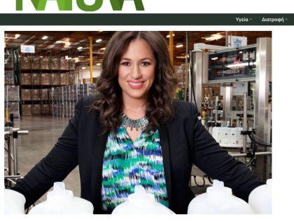 Κέλλυ Βλαχάκη: η μεγάλη κυρία της Earth Friendly Products