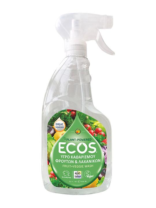 ECOS Καθαριστικό για Φρούτα και Λαχανικά Fruit & Veggie Wash