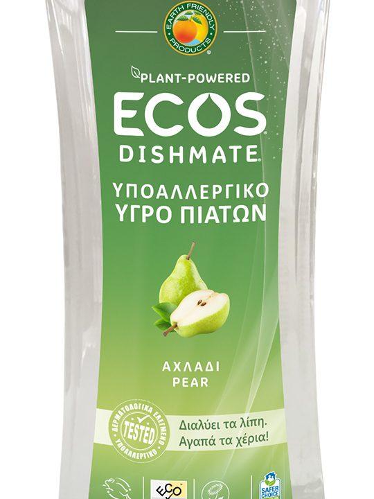 ECOS Υγρό Πιάτων για Πλύσιμο στο Χέρι, Αχλάδι